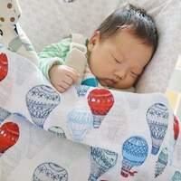 新生儿送礼自用梦幻逸品‧aden+anais纱布包巾和毯子