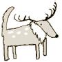 小野狼大鹿斑比