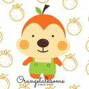 橘子亂說話 圖像